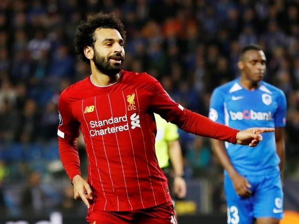 Liverpool striker Mohamed Salah