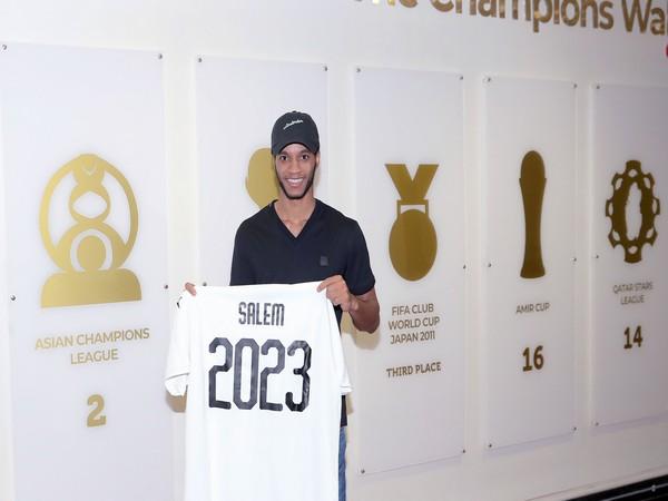 Qatar midfielder Salem Al-Hajri (Photo/AlSadd SC Twitter)