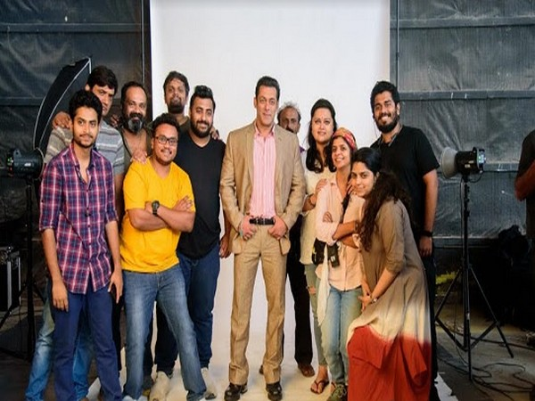 Salman Khan's shoot for BharatPe's new advertising campaign