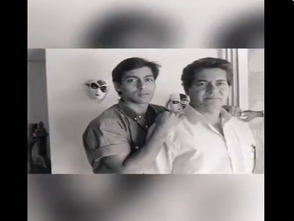 Still from the video shared by actor Salman Khan on Father's Day (Image source: Twitter)