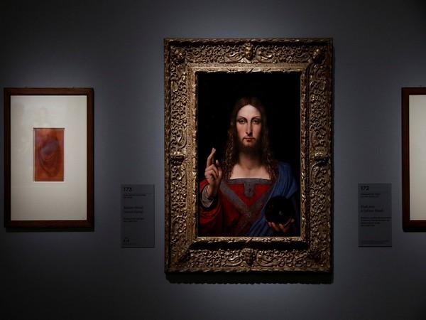 World's costliest painting Salvator Mundi (Photo Credit - Reuters)