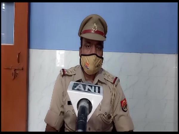 Dharmpal Singh, Station House Officer Nakhasa police station speaking to ANI on Sunday. (Photo/ANI)