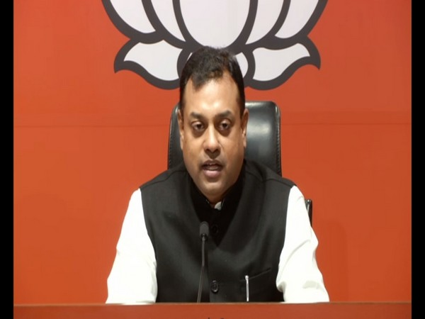 BJP spokesperson Sambit Patra addressing a press conference in New Delhi on Monday (Photo/ANI)