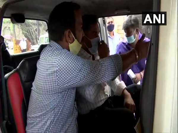 Visual of Sameer Khan being sent to 14-day judicial custody (Photo/ANI)