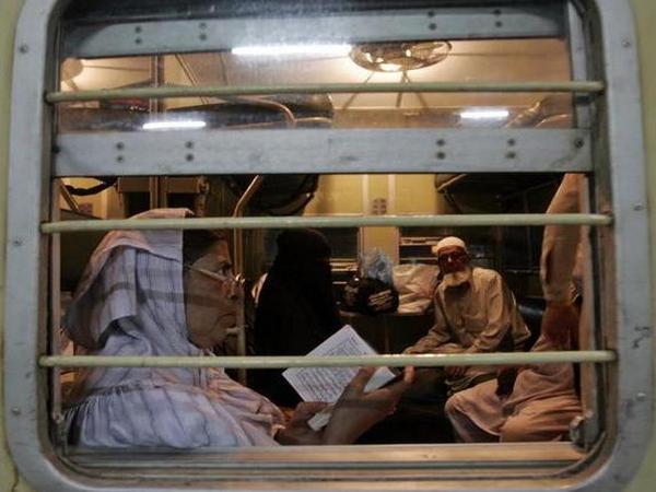 A file picture of Samjhauta Express. Photo/ANI