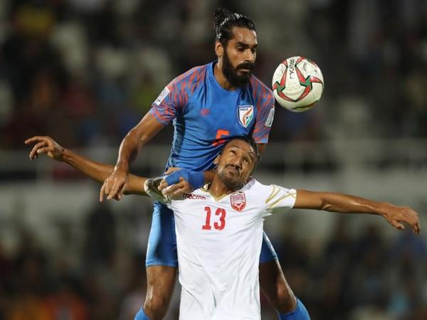 Kerala Blasters defender Sandesh Jhingan (Photo/ Sandesh Jhingan Twitter)