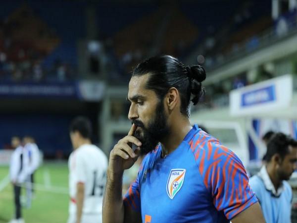 Indian football team defender Sandesh Jhingan (Photo/Indian Football Team Twitter)