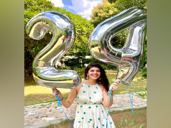 Actor Sanjana Sanghi celebrates her 24th birthday on Thursday (Image source: Instagram)