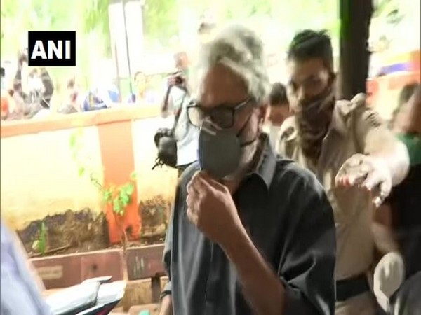 Sanjay Leela Bhansali arrives at Bandra Police Station on Monday.
