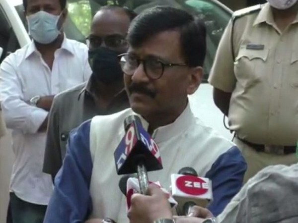 Shiv Sena MP Sanjay Raut (Photo/ANI)