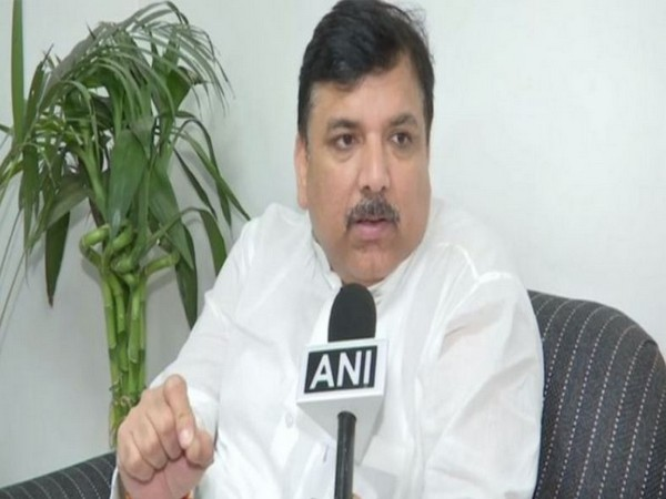 AAP leader Sanjay Singh. (File Photo/ANI)