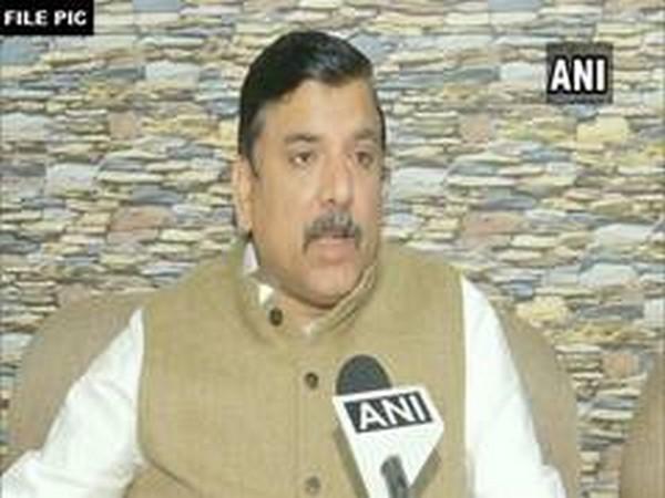 AAP MP Sanjay Singh (File photo)