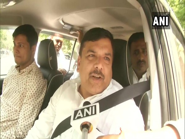 Sanjay Singh, AAP speaking to ANI after meeting SP chief Akhilesh Yadav on Tuesday