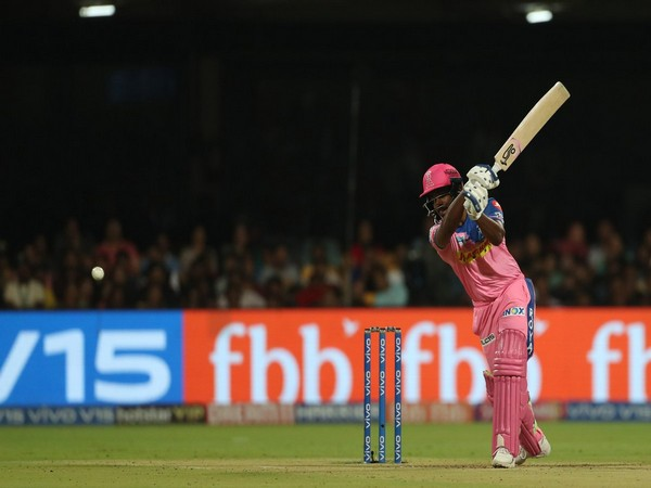 Sanju Samson was awarded man of the match as he played a knock of 91 runs in 48 balls. (Photo/Rajasthan Royals Twitter)