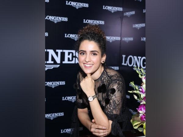 Sanya Malhotra Launches Longines Master Collection