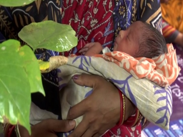 "A Bhubaneswar hospital is handing out tree saplings to the parents of the newborns delivered in the hospital under their innovative scheme ""One baby one tree""."