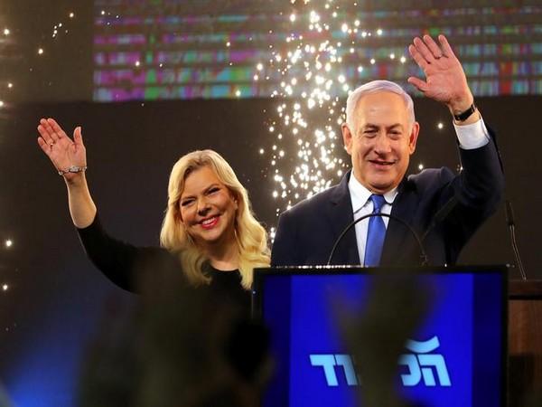 Israeli Prime Minister Benjamin Netanyahu and wife Sara Netanyahu
