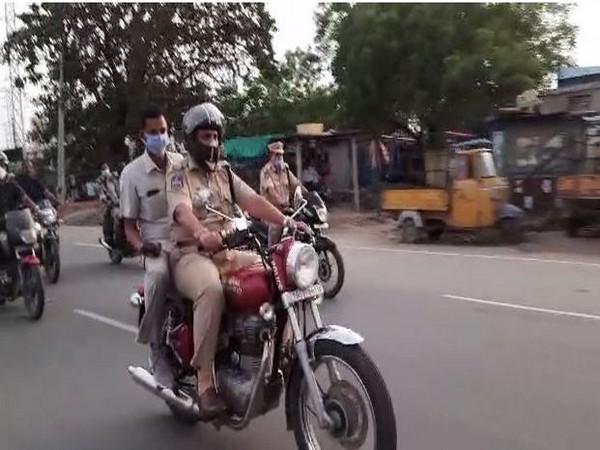 Nirmal SP Sasidhar Raju takes stock of situation amid COVID-19 lockdown