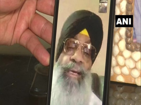 Satbir Singh, one of the five residents of Amritsar stranded in Lahore, Pakistan