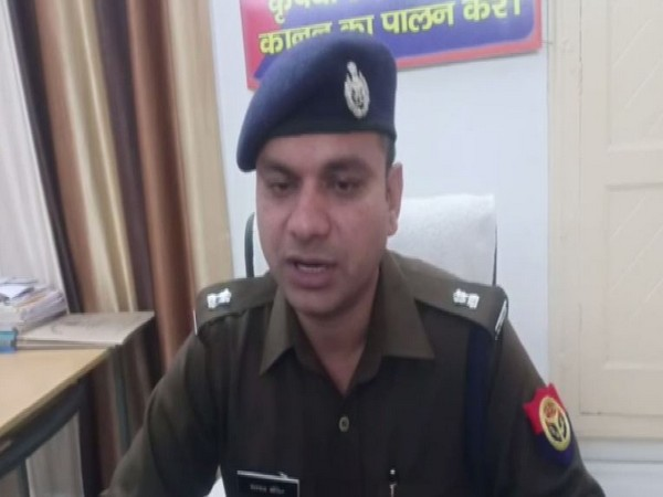 Superintendent of Police (SP) City Satpal speaking to reporters on Monday. Photo/ANI