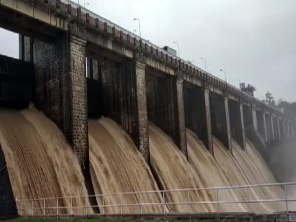 Visual from Satpura Dam on Thursday. Photo/ANI