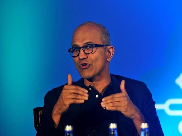 Microsoft CEO Satya Nadella (File pic)