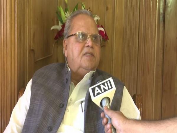 Jammu and Kashmir Governor Satya Pal Malik (File Image)
