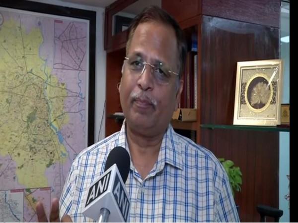 Delhi Health Minister Satyendra Jain (file pic)