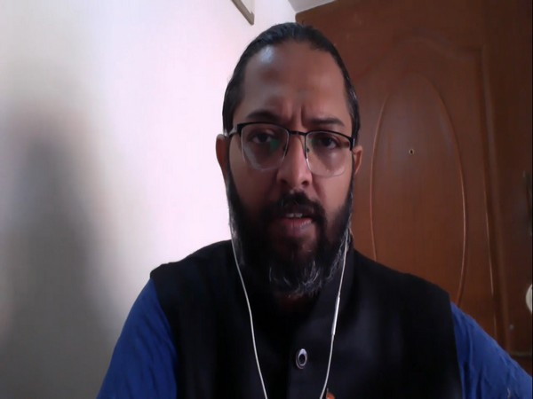 Goa Chronicle editor-in-chief Savio Rodrigues in a video message on Wednesday. Photo/ANI