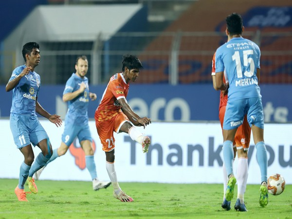 FC Goa, Mumbai City play out 2-2  draw in the ISL here on Friday. (Photo/ ISL)