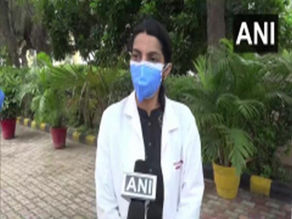 Dr Savita Verma, principal investigator of vaccine trial team at PGI Rohtak, speaking to ANI on Saturday. Photo/ANI