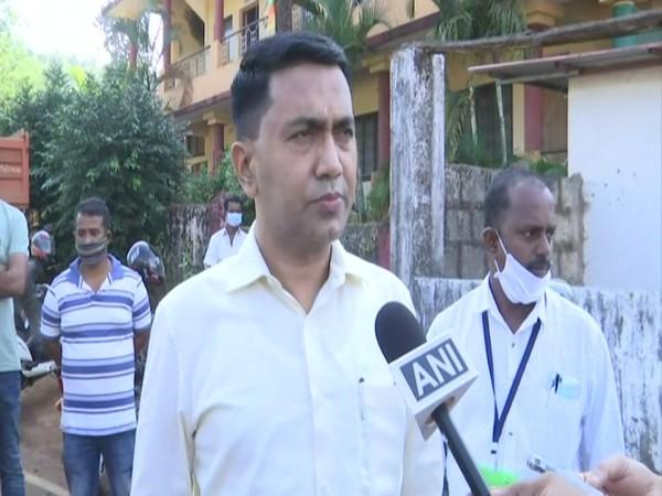 Goa Chief Minister Pramod Sawant