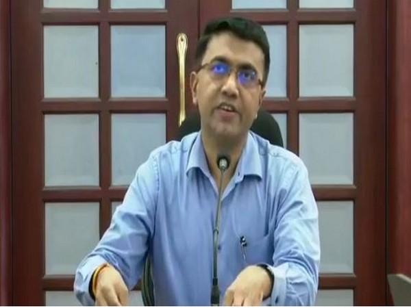 Goa Chief Minister Pramod Sawant addressing a press conference in Panaji on Friday. Photo/ANI