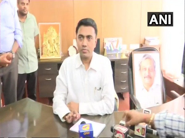 Pramod Sawant takes oath as the Chief Minister of Goa.