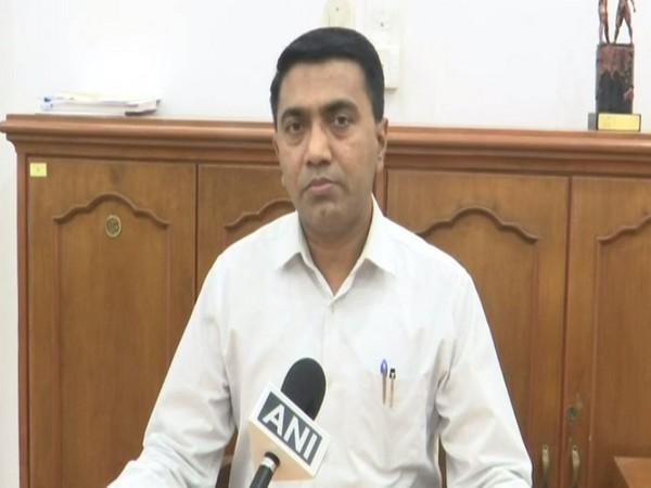 Goa Chief Minister Pramod Sawant speaking to ANI on Saturday.