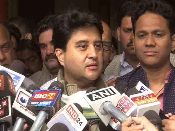 Congress General Secretary Jyotiraditya Scindia (File photo)