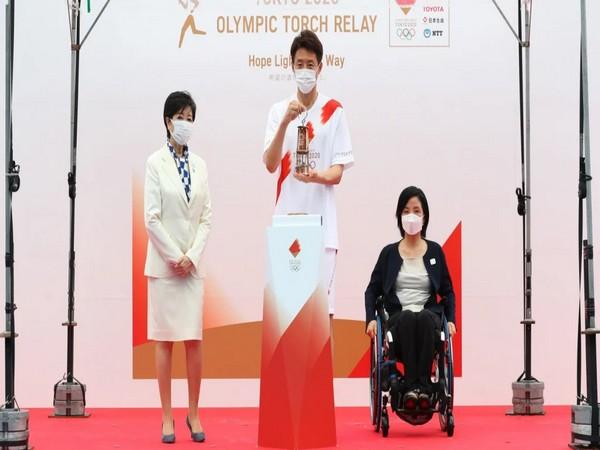 Koike Yuriko, Taguchi Aki, and Matsuoka Shuzo (Photo: Olympics)