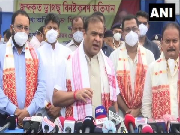Assam Chief Minister Himanta Biswa Sarma (file photo)