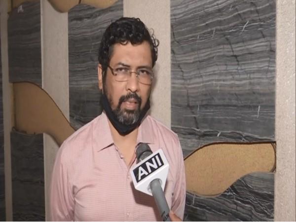 Keshav Upadhayay, spokesperson of Maharashtra BJP. (Photos/ANI)