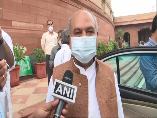 Union Agriculture Minister, Narendra Singh Tomar. (Photos/ANI)