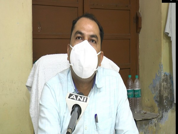 Dr. Vishal Kumar Gupta, Associate Professor, Medicine Department, Lala Lajpat Rai Hospital (Halut) (Photo/ANI)