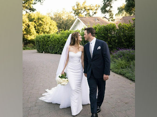 Chris Pratt and his wife Katherine (Image source: Instagram)