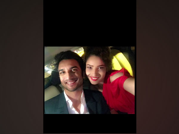 Late actor Sushant Singh Rajput with Ankita Lokhande (Image source: Instagram)