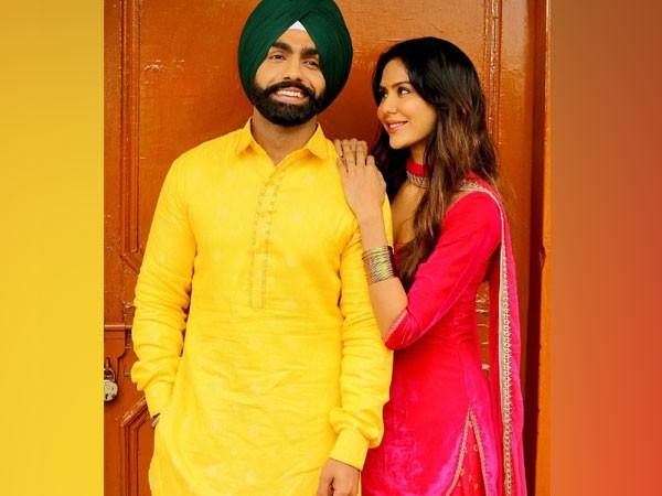 Ammy Virk and Sonam Bajwa (Image source: Instagram)