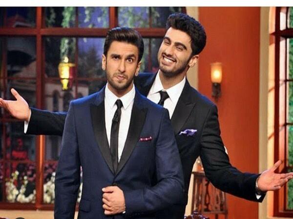 Ranveer Singh with Arjun Kapoor (Image source: Instagram)
