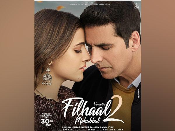 Poster of 'Filhaal 2' (Image source: Instagram)