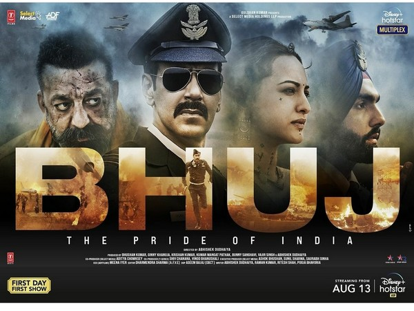 Poster of 'Bhuj: The Pride of India' (Image source: Instagram)