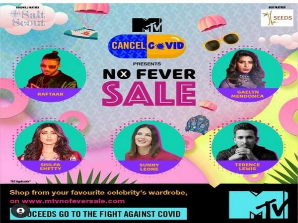 Poster of MTV No Fever Sale (Image source: Instagram)
