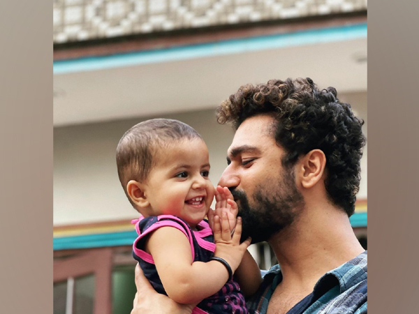 Vicky Kaushal and his niece (Image source: Instagram)
