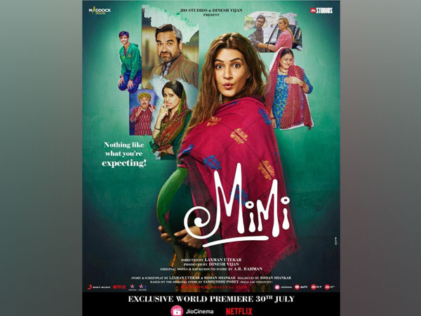 Poster of 'Mimi' (Image source: Instagram)